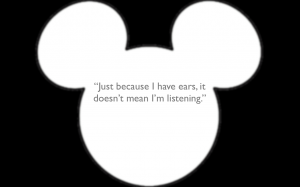 Just Because I Have Ears